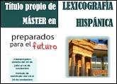Máster en Lexicografía Hispánica