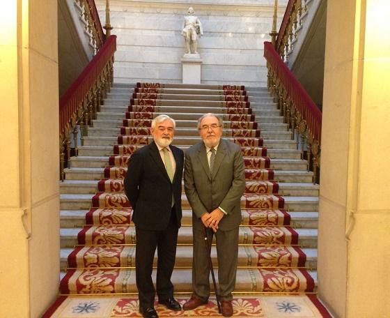 Dario Villanueva y Adolfo Elizaincín