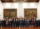 Reunión de la ASALE por la presentación del Diccionario panhispánico del español jurídico (DPEJ)