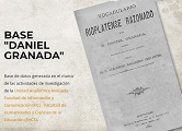 "Base de datos ""Daniel Granada"".  FIC - FHCE"