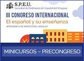 Antesala al III Congreso Internacional de la SPEU - Minicursos en la ANL