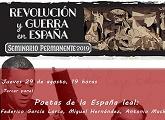 Revolución y guerra en España: poetas de la España leal