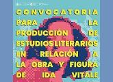 CCE - Convocatoria: producción de estudios literarios en relación a la obra y figura de Ida Vitale