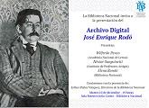 """Presentación del """"Archivo Digital José Enrique Rodó"""""""
