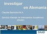 DAAD (Servicio Alemán de Intercambio Académico)