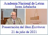 Jorge Arbeleche presentó el 21 de julio