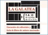 La Galatea: encuentro de editoriales y ferias de libros de autores nacionales