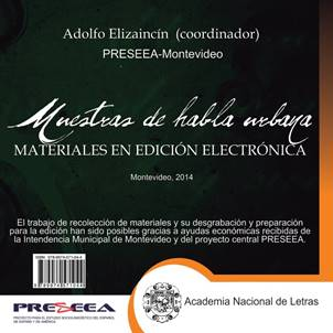 Muestra de habla urbana - PRESEEA (CD)