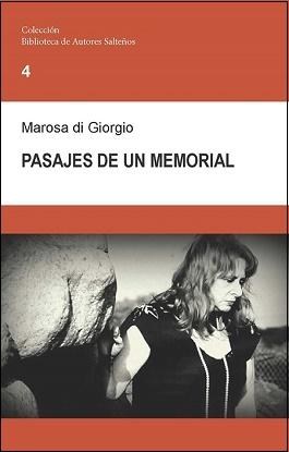 Libro Pasajes de un memorial