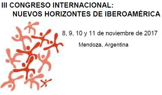 III Congreso Internacional Nuevos Horizontes de Iberoamérica
