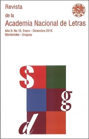 Revista de la Academia Nacional de Letras